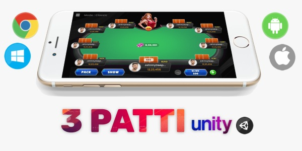 Buy source code of Teenpatti game in Unity